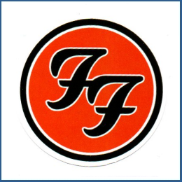 Adesivo Foo Fighters - Model 1