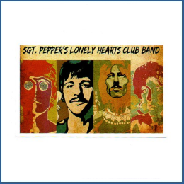 Adesivo Beatles - Sgt. Peppers
