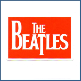 Adesivo The Beatles - Model 2