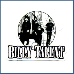 Adesivo Billy Talent