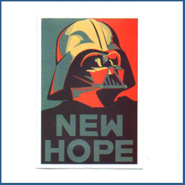 Adesivo - Darth Vader - New Hope