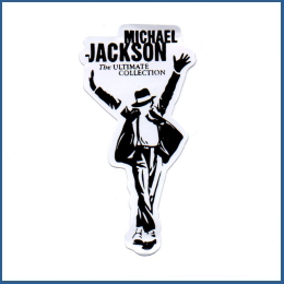 Adesivo - Michael Jackson (Ultimate Collection)