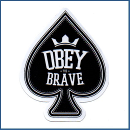 Adesivo - Obey Brave